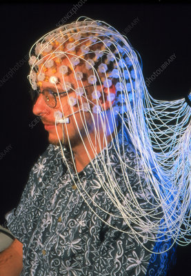 EEG test to measure mathematical brain activity