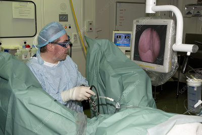 Endoscopic prostate surgery