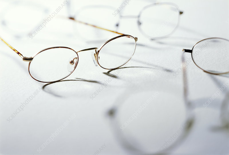 View of a several pairs of spectacles
