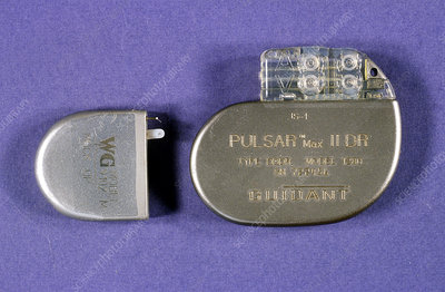 Dual chamber pacemaker with 8 year battery