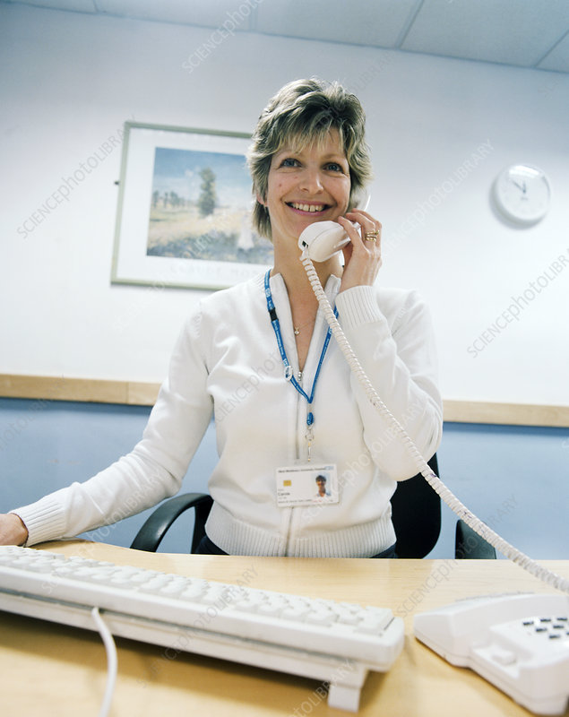 Hospital receptionistHospital Receptionist