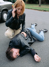 Road accident first aid