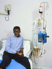 Sickle cell patient