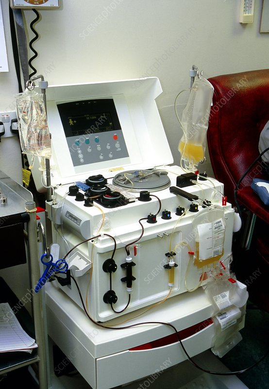 Blood separation equipment
