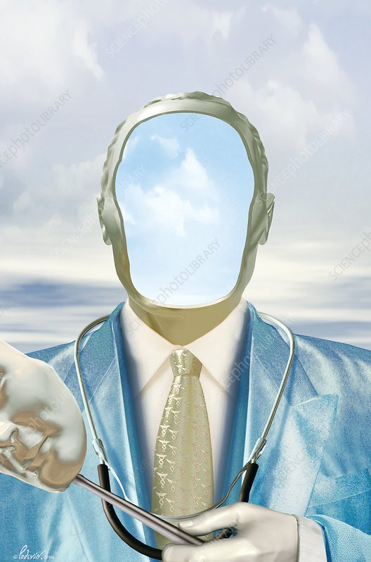 Knowing your doctor, conceptual artwork