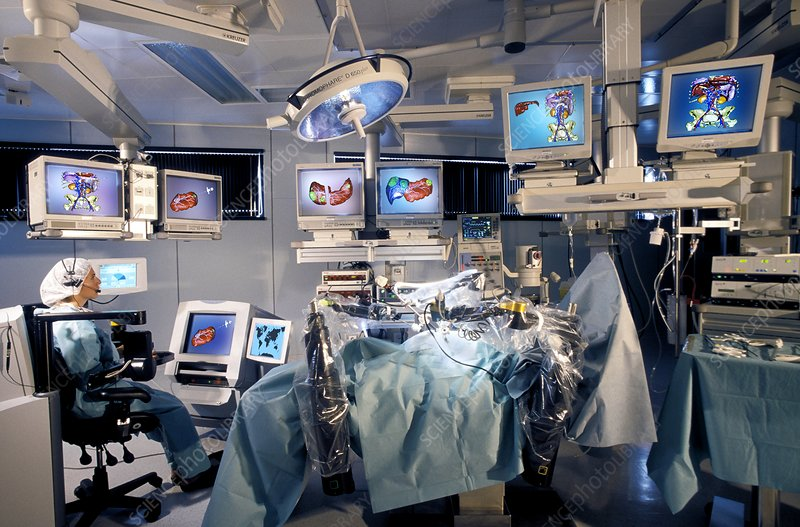 Advanced robotic surgery