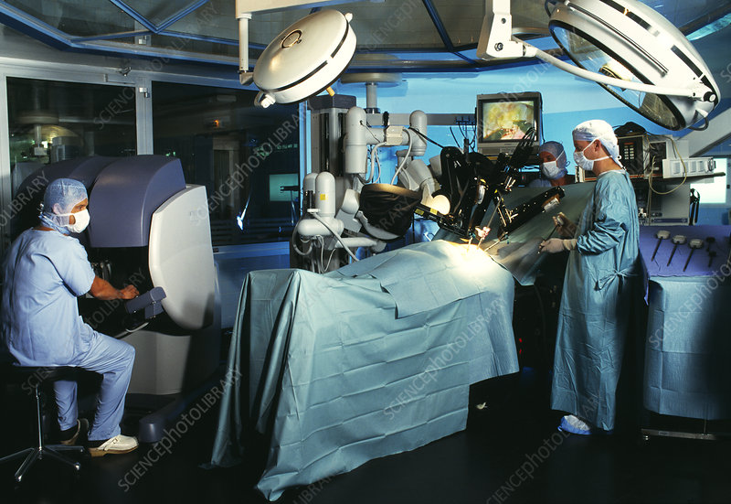 Robotic heart surgery