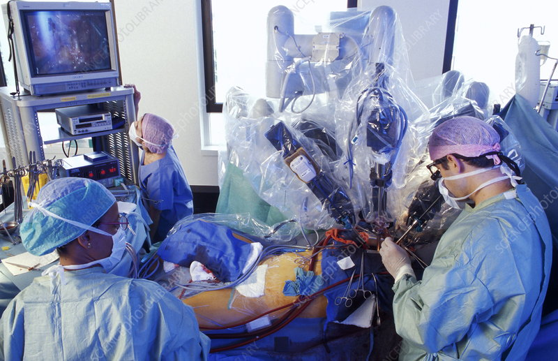 Robot-assisted heart surgery