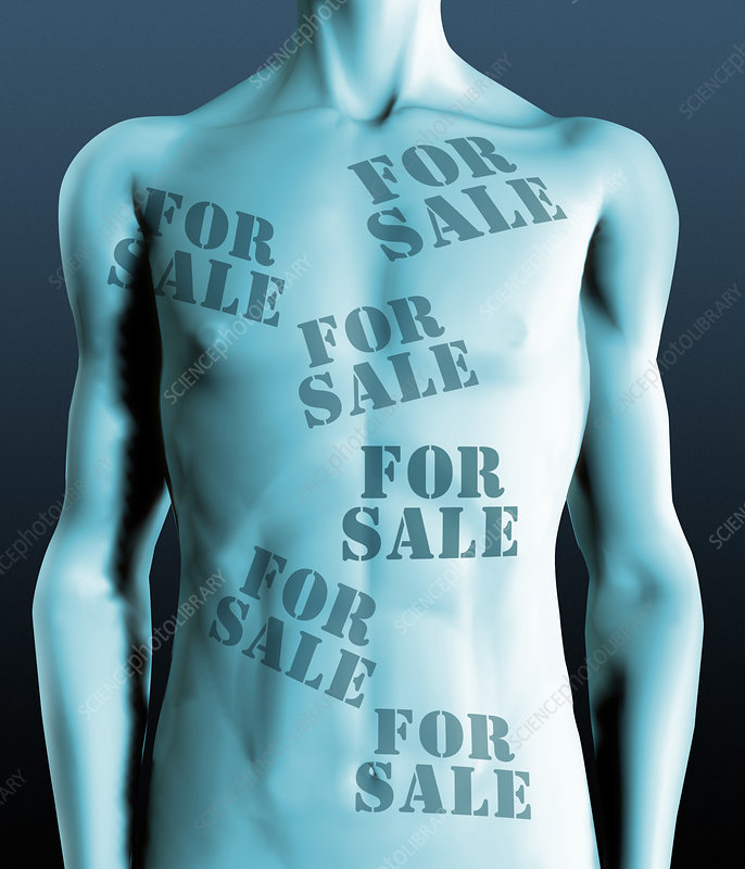 Body parts for sale