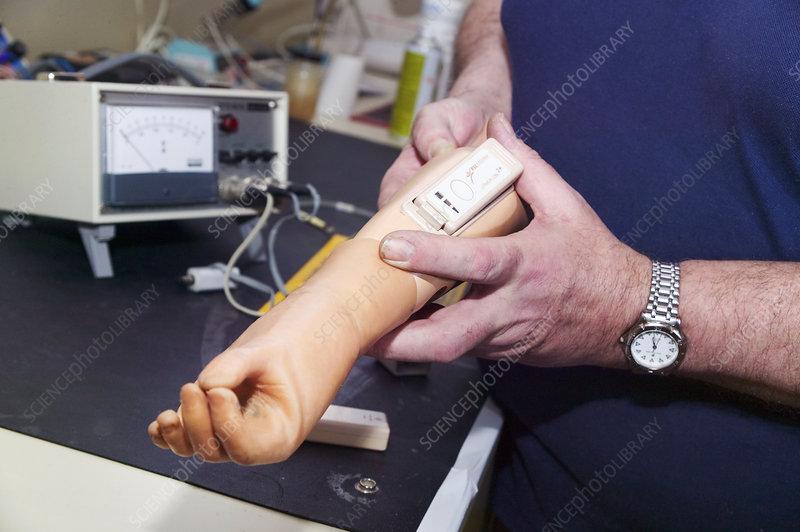 Prosthetic limb manufacture