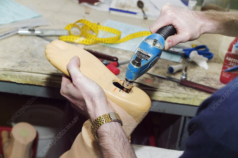 Prosthetic limb manufacture