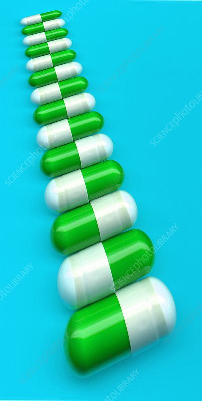 M Antibiotic Antibiotic capsules - ...