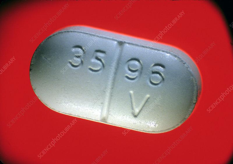 Vicodin tablet