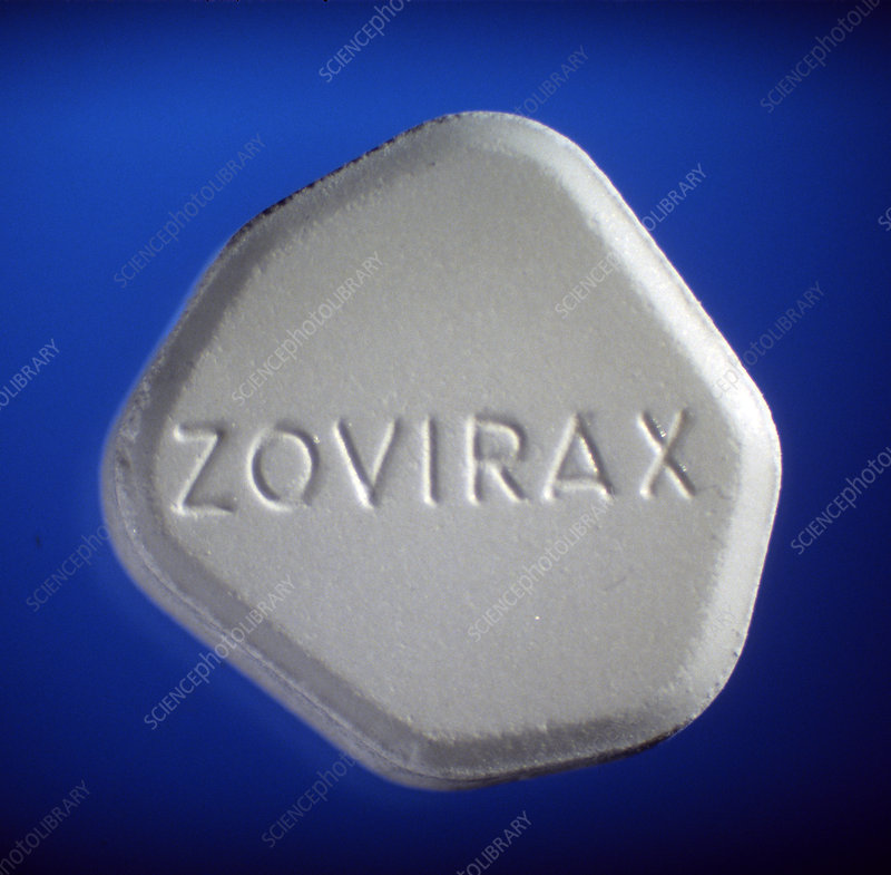 Zovirax (acyclovir) 25mg tablet