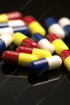 Assorted capsules