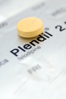 Plendil hypertension pill