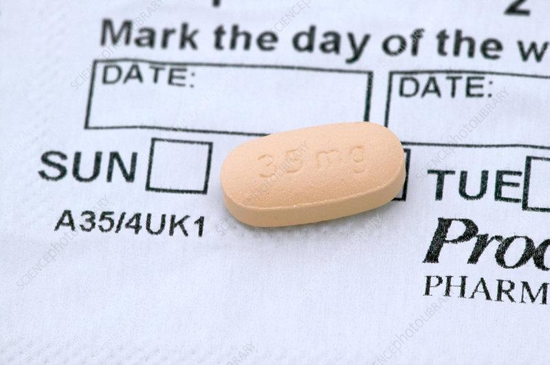 Actonel osteoporosis drug