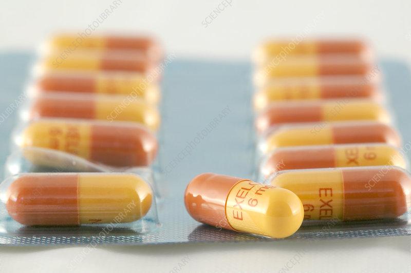 Rivastigmine Alzheimer's drug