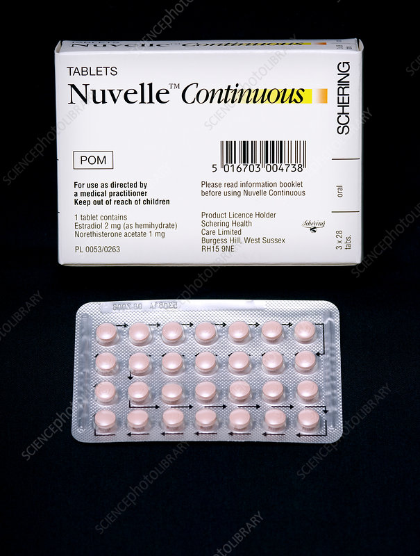 Nuvelle hormone replacement therapy drug