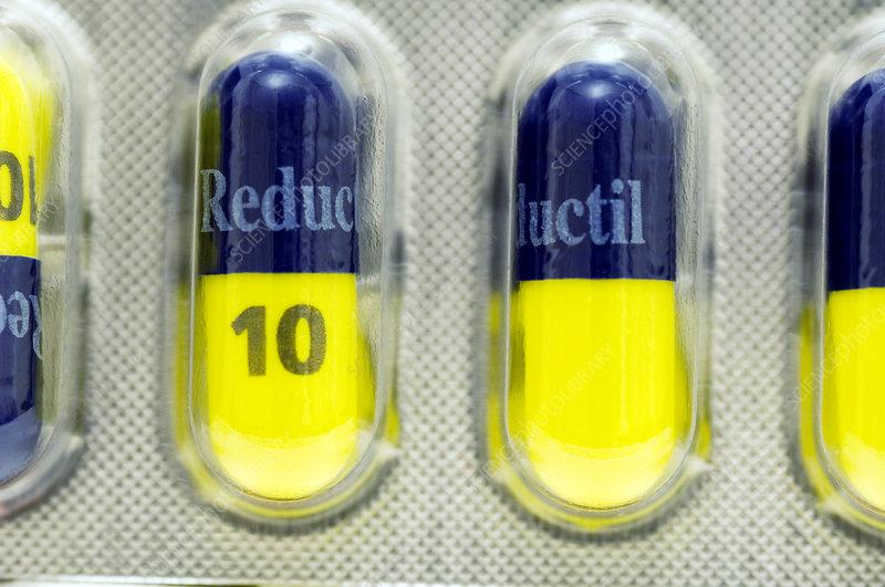 Reductil anti-obesity drug