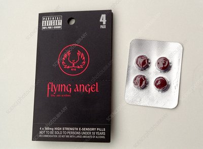'Flying angel' pills