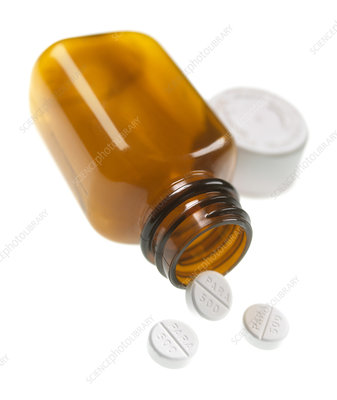 Painkiller tablets
