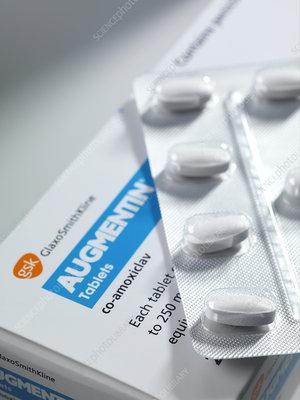 Augmentin antibiotic pills