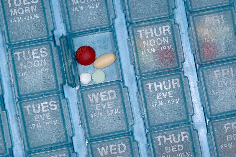 Pill organiser