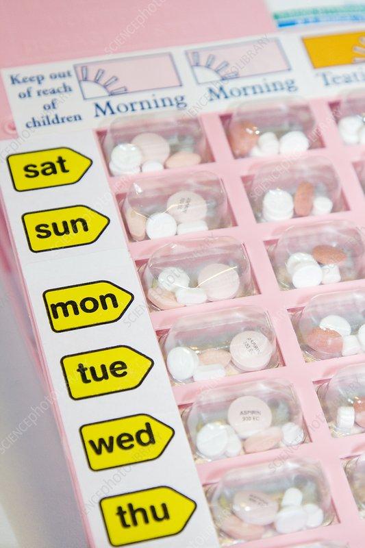 Drug tray