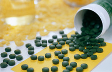 Chlorella algae pills