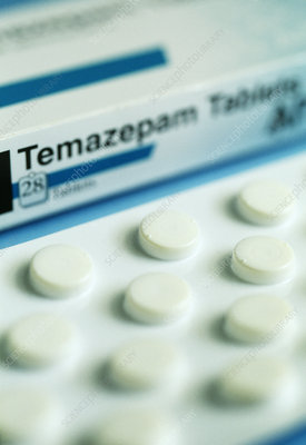 Temazepam sleeping pills