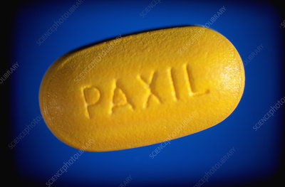 Paxil antidepressant tablet