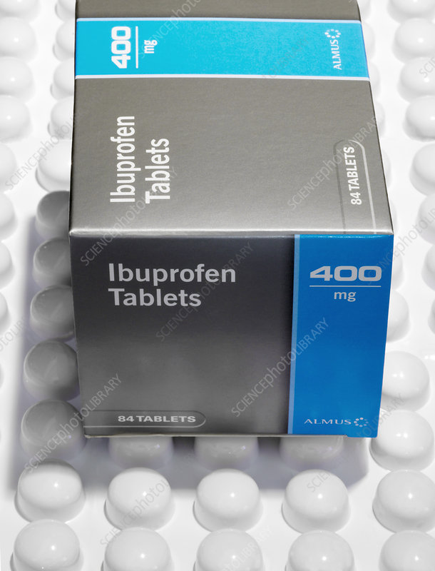 Ibuprofen painkilling drug
