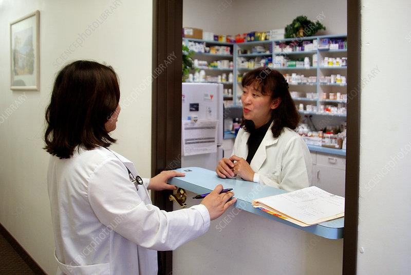 Doctor Chats with Pharmacist
