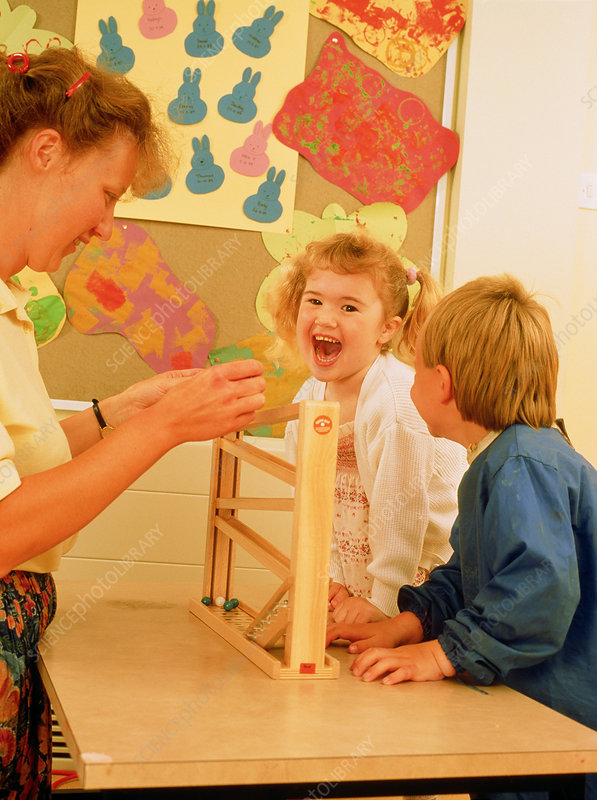Occupational therapy with young children