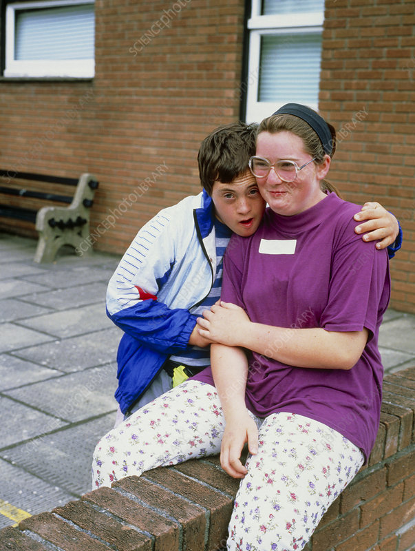 Down's syndrome at a holiday play scheme