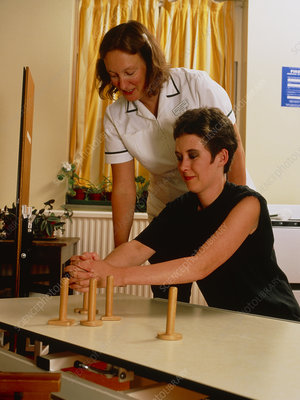 Stroke patient physiotherapy