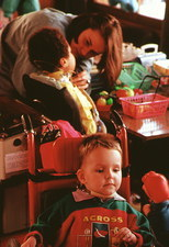Muscular dystrophy: playgroup therapy for children