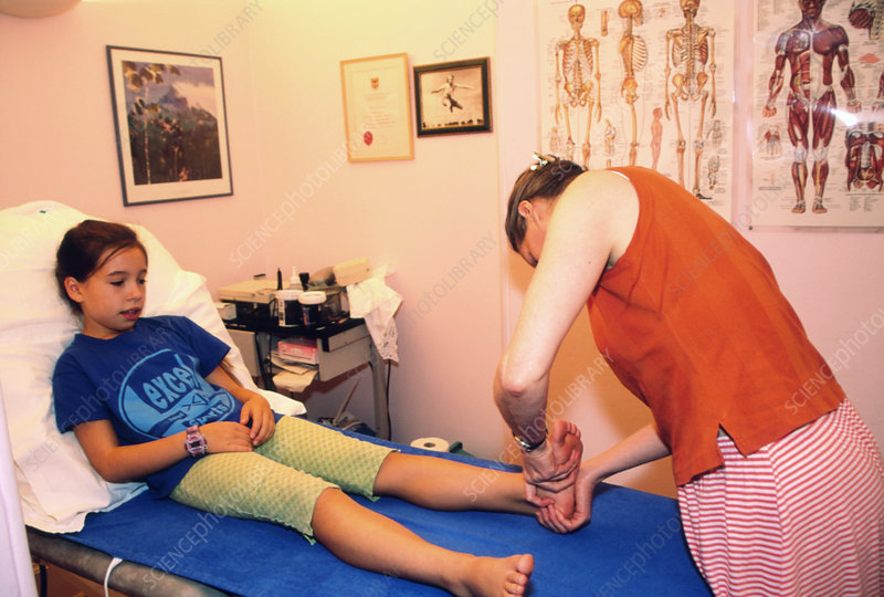 Ankle physiotherapy