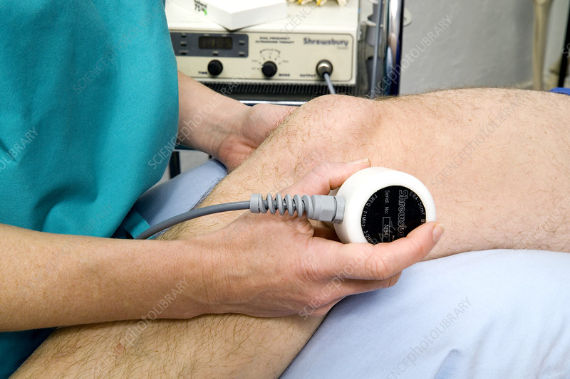 Ultrasound treatment of ligament injury