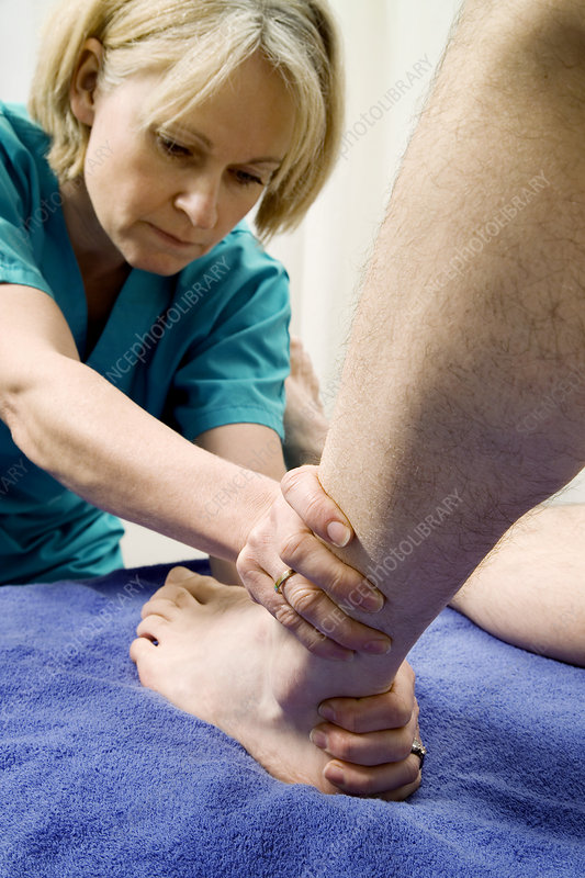 Ankle joint examination