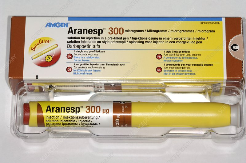 Aranesp injection pen to treat anaemia