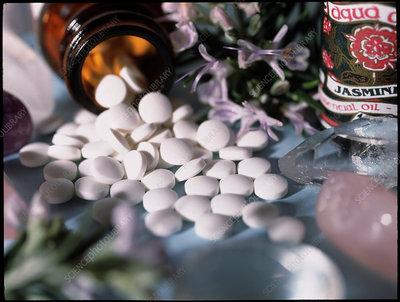 Assortment of alternative therapies