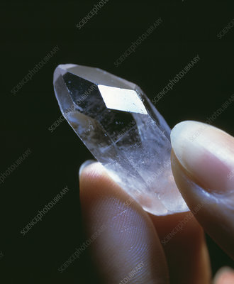 Healing quartz crystal