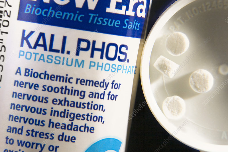 Tissue salts homeopathic remedy