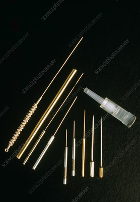 Assortment of acupuncture needles