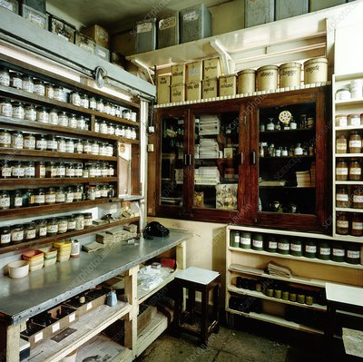 Indian traditional medicine (Ayurvedic) pharmacy