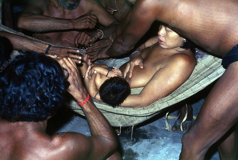 Assurini Indian shamans