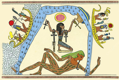 Egyptian creation myth