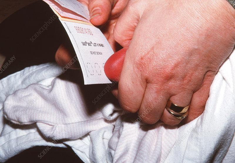 Guthrie blood test